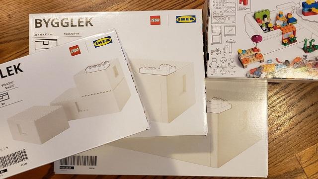 レゴとイケアの収納ボックス全種類