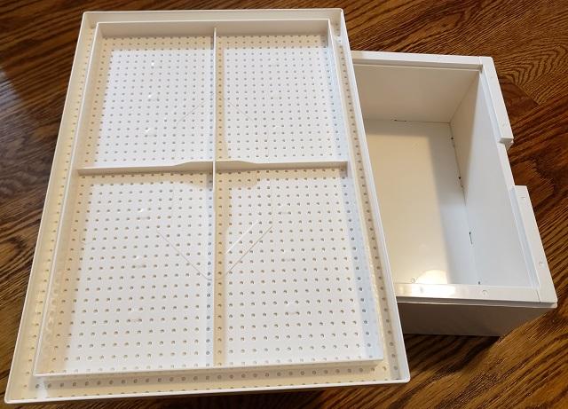 イケアとレゴの収納ボックス組み立て 子供 ビッグレク