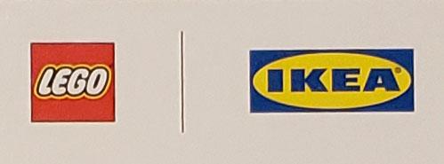 LEGOIKEAコラボ商品ロゴ