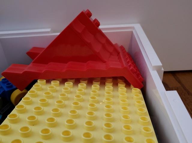 ビッグレクに レゴのデュプロは大きい