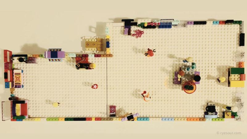 LEGO IKEA 収納 ボックス 箱 ビッグレク