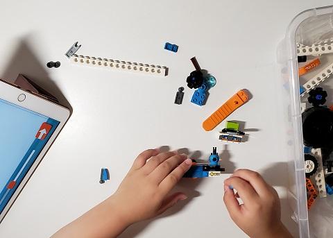 レゴブースト 組み立て タブレット 箱