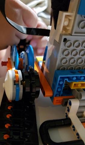 レゴブースト バーニー ロボット