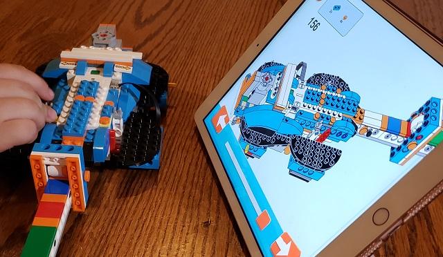 レゴブースト ギター iPad