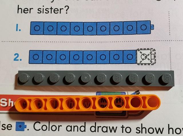 LEGOブロックと算数
