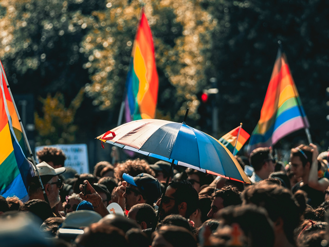 Pride parade photp from Unsplash