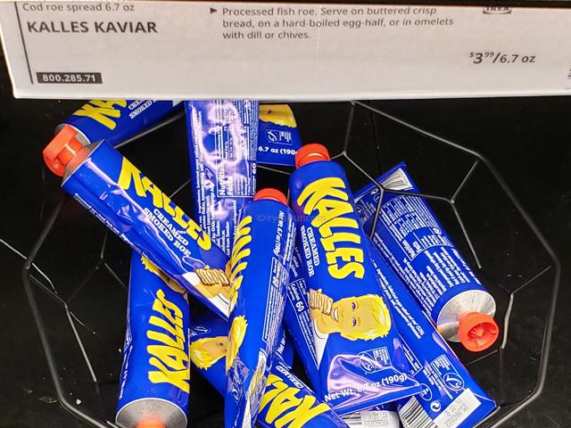 IKEA イケア たらこペースト アメリカ
