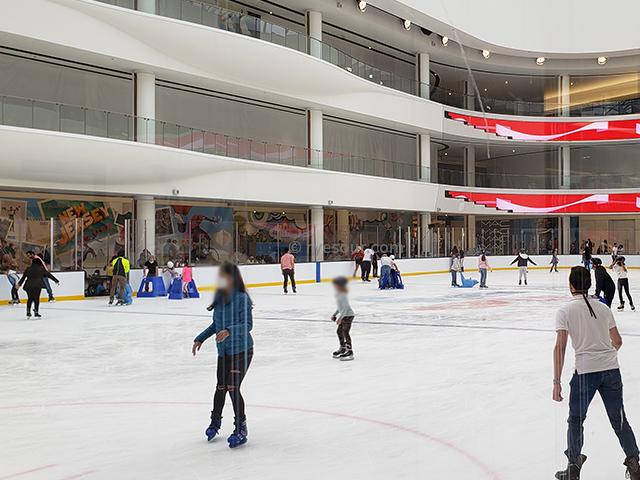 AMERICAN DREAM アイススケートリンク