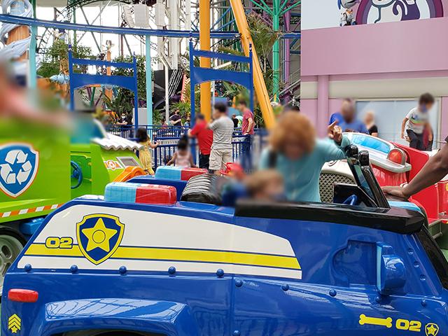 Nickelodeon Nick Universe New Jersey ニコロデオン ユニバース アメリカ ニュージャージー NJ 屋内テーマパーク・遊園地のアトラクションと遊び場 パウパトロール パウ・パトロール チェイス おもちゃ