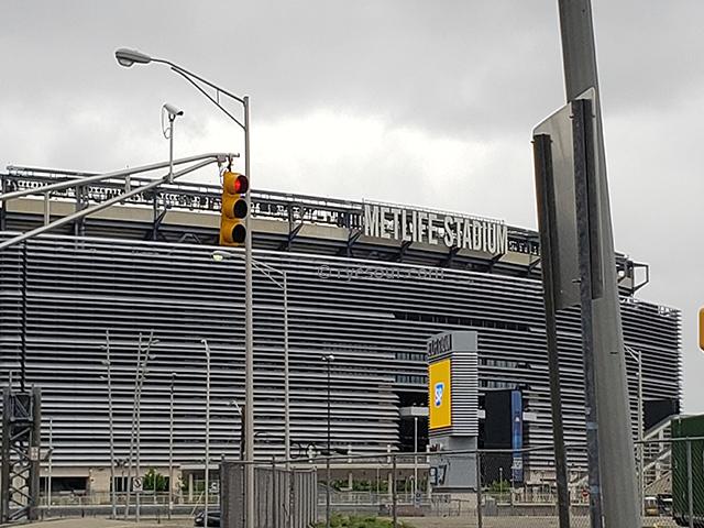 メットライフ・スタジアム 外観 ニューヨーク ニュージャージー