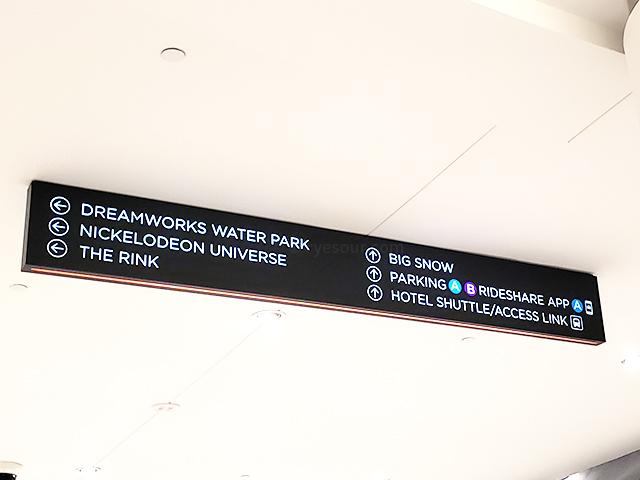 ニュージャージー アメリカンドリーム 標識